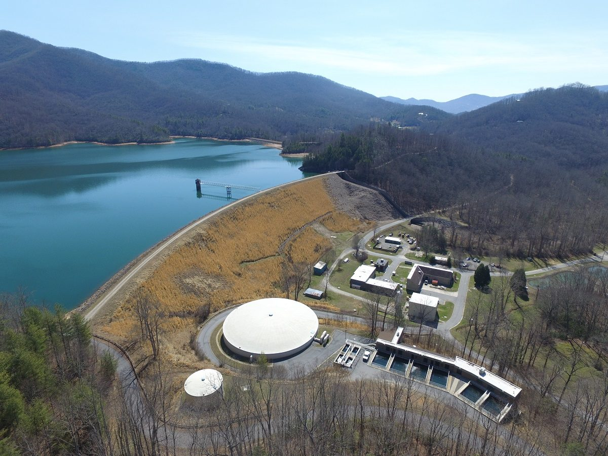 Mcgill Aerial Photo Wins 1st Place Nc Awwa Wea Award
